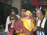 Greg, Sarah, Denis, Nono et Bretelle au carnaval de Sarreguemines 57.