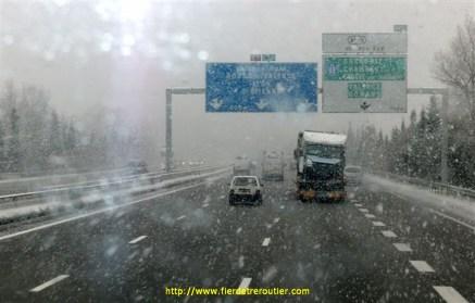 Valence sous la neige...