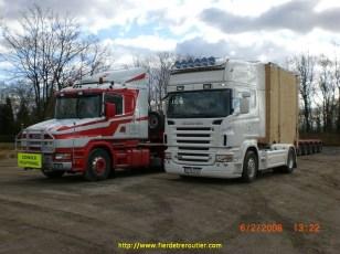 le T 164.580 de Brame et mon R 620