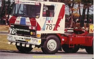 Bedford aux 24h du Mans.