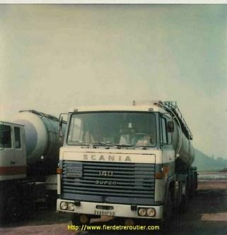 Scania LB 140 super immatriculé en 1973