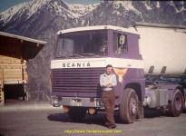 le même jour Richard Marciniak avec le Scania 140 de 1973