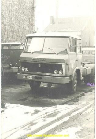 Willème LF 102 à cabine Pelpel. Immatriculé en 1969