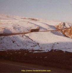 en route pour l'Iran 1975