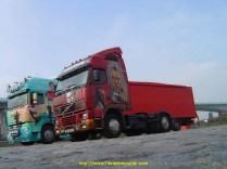 Photo prise avec le Daf Xf de MiKe dans le port de gennevilliers