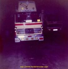 Mercedes 1314 de Bouboule en 1983