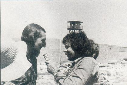 Avec Gerard Trois en Iran
