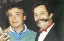 Avec Michel Sardou