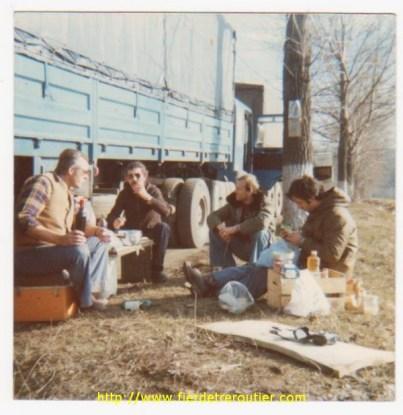 Quelque part en Bulgarie en janvier 76