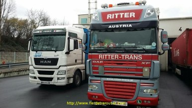 À Neuwied, avec Emil, tchèque de Brno roulant pour Ritter..