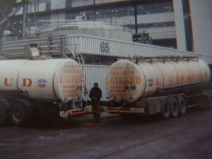 Déchargement de glucose PADERBOEN (RF) JUIN 1986