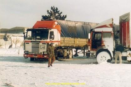 Camion Iochum prenant le frais.