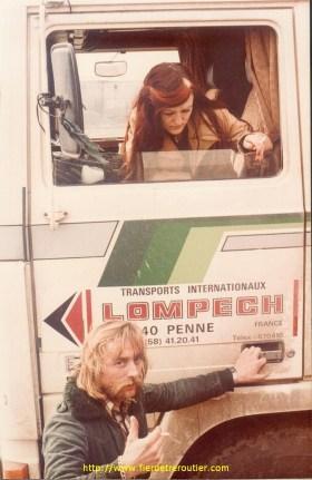 """Papin et madame au retour de """"Katmandou"""""""