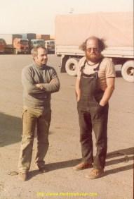 Le Berger (a droite) sans ses moutons !