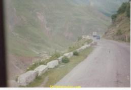 Une route du Caucase Géorgien (au sud)