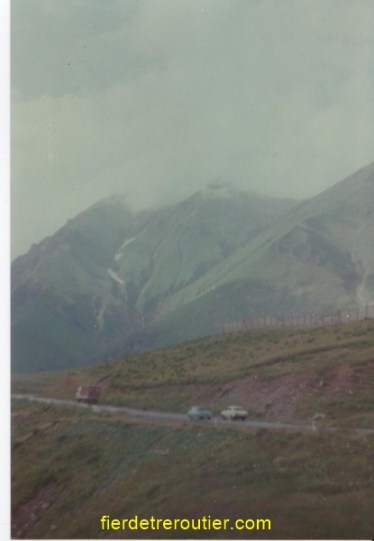 Montagnes du Caucase