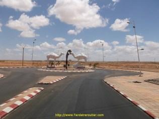 ça c'etait encore au Maroc, plus on va au sud et plus il y a de dromadaires