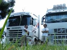 A Roye avec Jorge