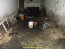 Pompage dans un puit, ça ne paraissait pas propre mais l'eau etait impeccable