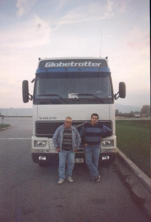Alain avec son père Jean chez TLR
