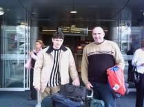 Radu débarque à Auckland en Nouvelle Zélande