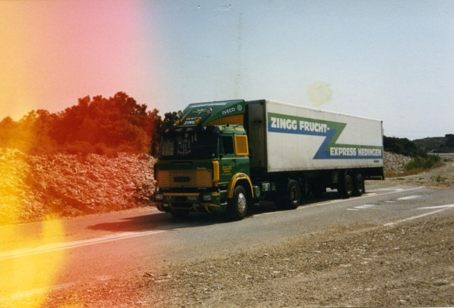 Mon camion sur la N7
