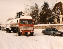 Genève, le terrible hiver 1985 - 1986