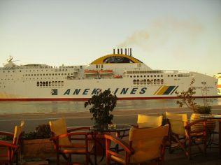 Un autre sûrement avec des CHEVRIER au port de PATRAS