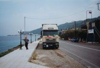 Philippe en Grèce 10/1999. A noter la nouvelle déco.