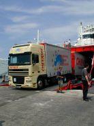 Alain débarque à Patras 2001