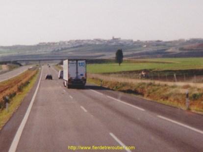 Sur l'A4 à Bailen