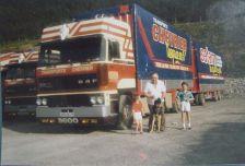 L'un des tout premier camion-remorque à vérin SAMRO en FRANCE