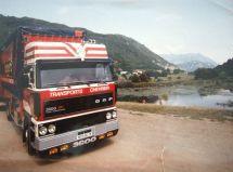 DAF 3600 camion remorque
