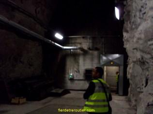 En direction de l'usine de ventilation