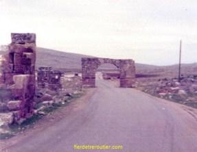 Bab el Hawa frontière Turco-Syrienne