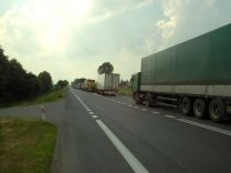 Les joies d'un accident en Pologne