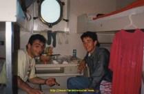 Cabine de bateau 0 étoile, buanderie, cuisine, fumoir intégrée