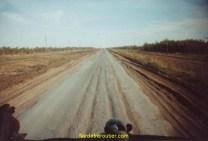 La route de Choubarkoudou, 420km République de Kazakstan
