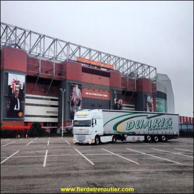 Old Trafford, le stade de Manchester United