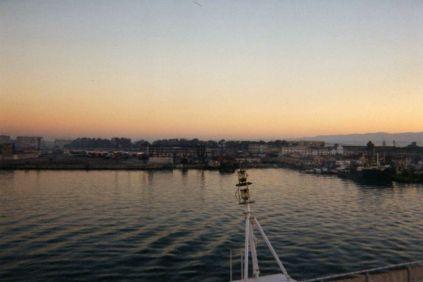 entrée du port de Durres