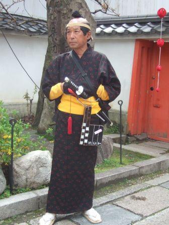 pour finir autre symbloe du Japon: un samourai (celui-la spécial touriste)