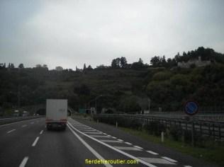 On reprend donc Udine, Venise puis Milan via l'A4.