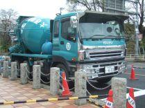 même les camions de chantiers