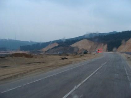 Et nous voila au petit matin avec de magnifiques paysages!