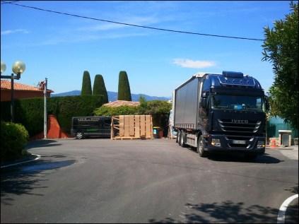 chantier sur Grasse