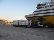 sur le port de Toulon