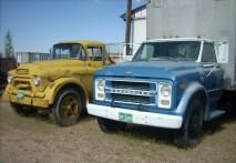 GMC 500 et un chevrolet 50 de 1972