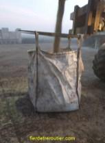 Il faut parfois remplir directement les big bag