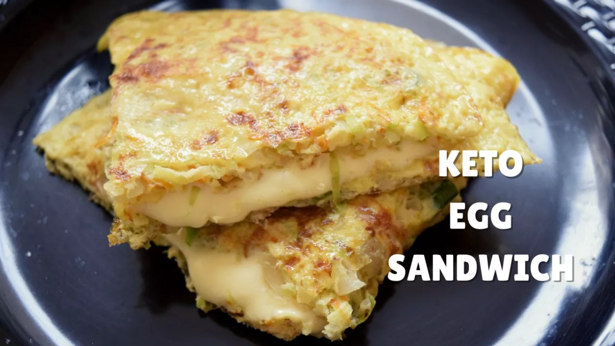 Keto Egg Sandwich Step 5