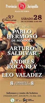 """Toros de """"Los Encinos"""" premiados en Juriquilla"""